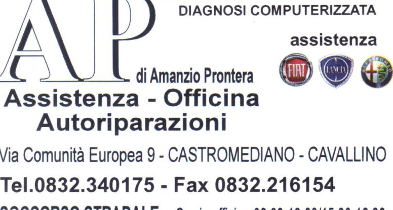 Sponsor Amanzio Prontera