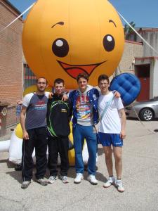 da sx Antonio DE BARI, Michele DE TRIZIO, Cristian LOTITO e Andrea TURCO