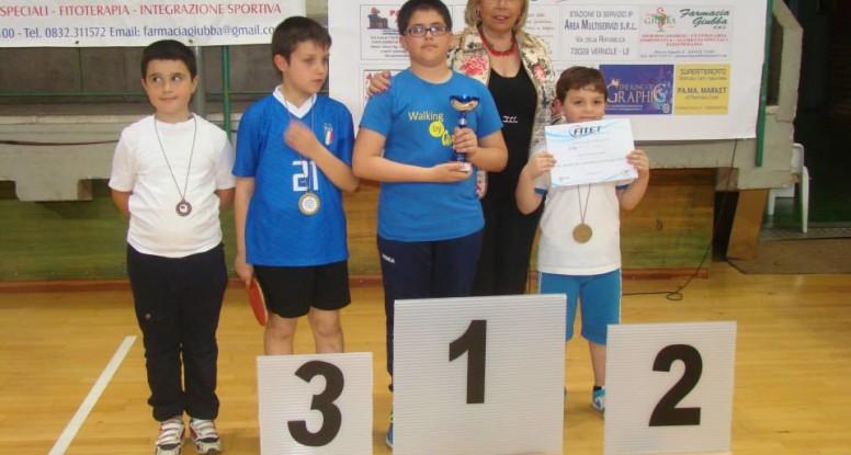 Premiazione dei giovanissimi