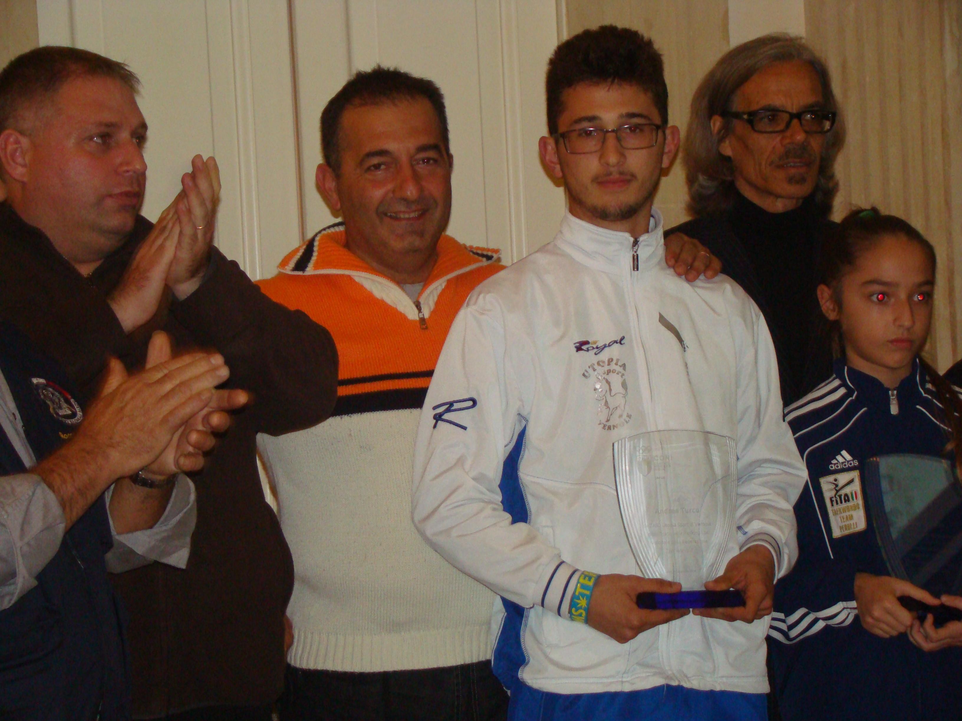 Premiazione Andrea Turco