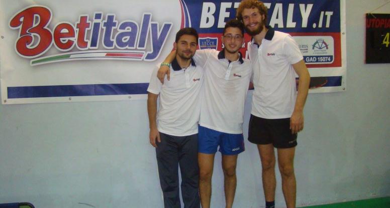 Paolo Fedele, Andrea Turco e Paolo Cogedo alla quinta giornata