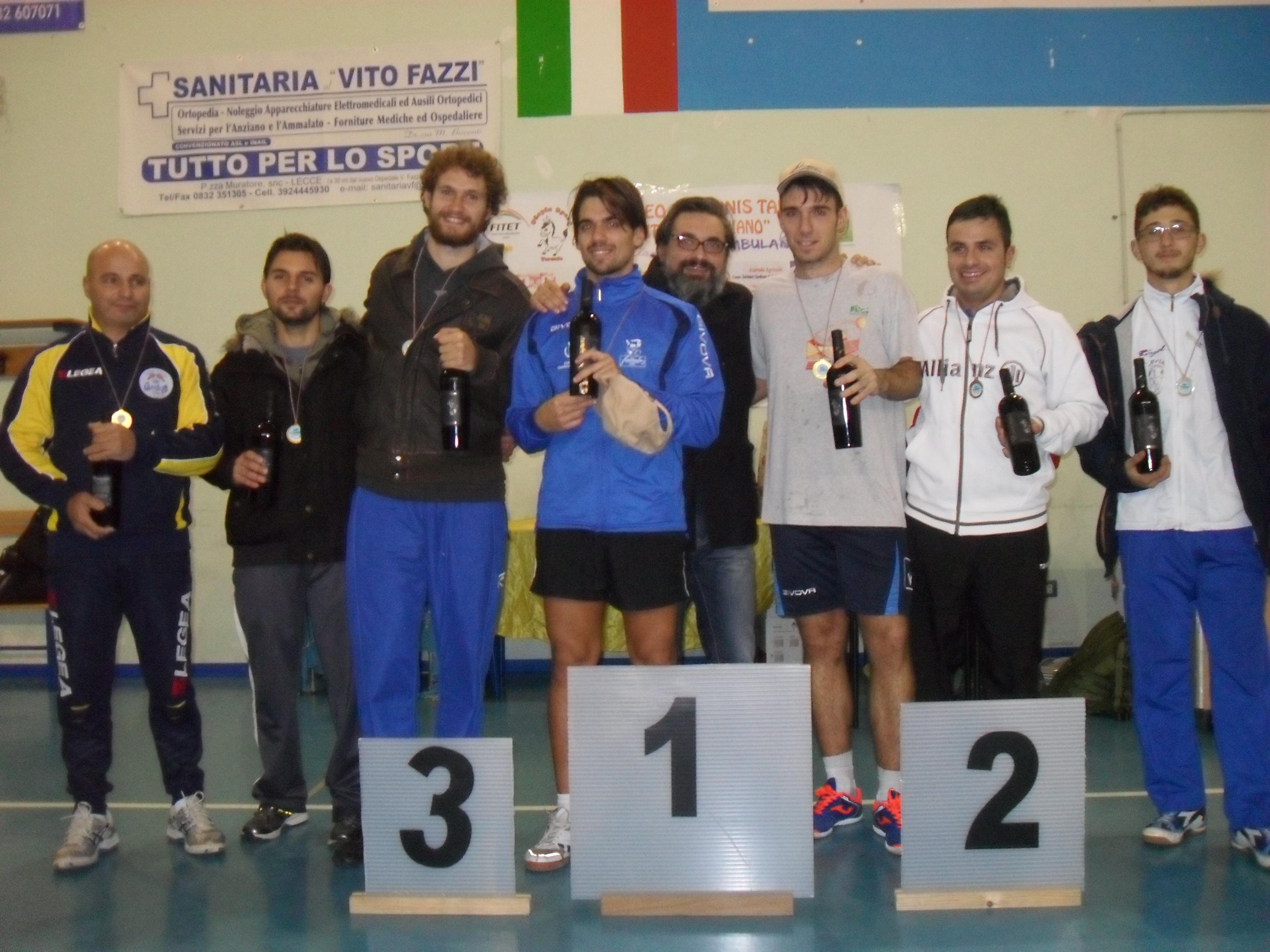 Foto dei premiati torneo agonistico