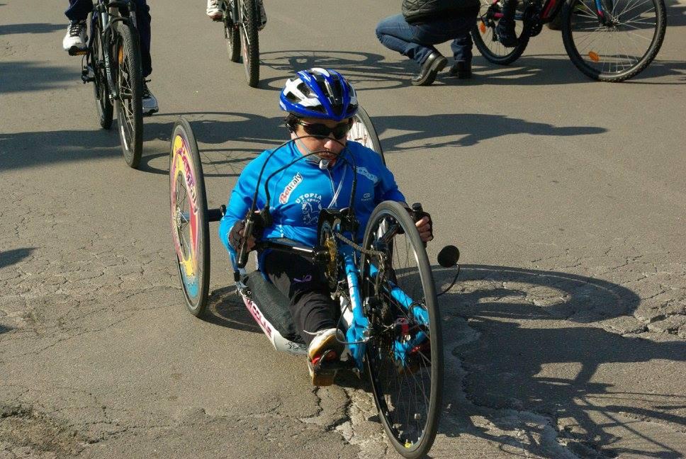 Grazia Turco su handbike