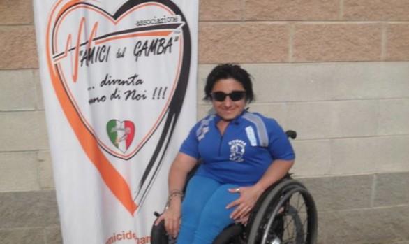 Grazia Turco medaglia d'oro alla gara internazionale di Valle Olona