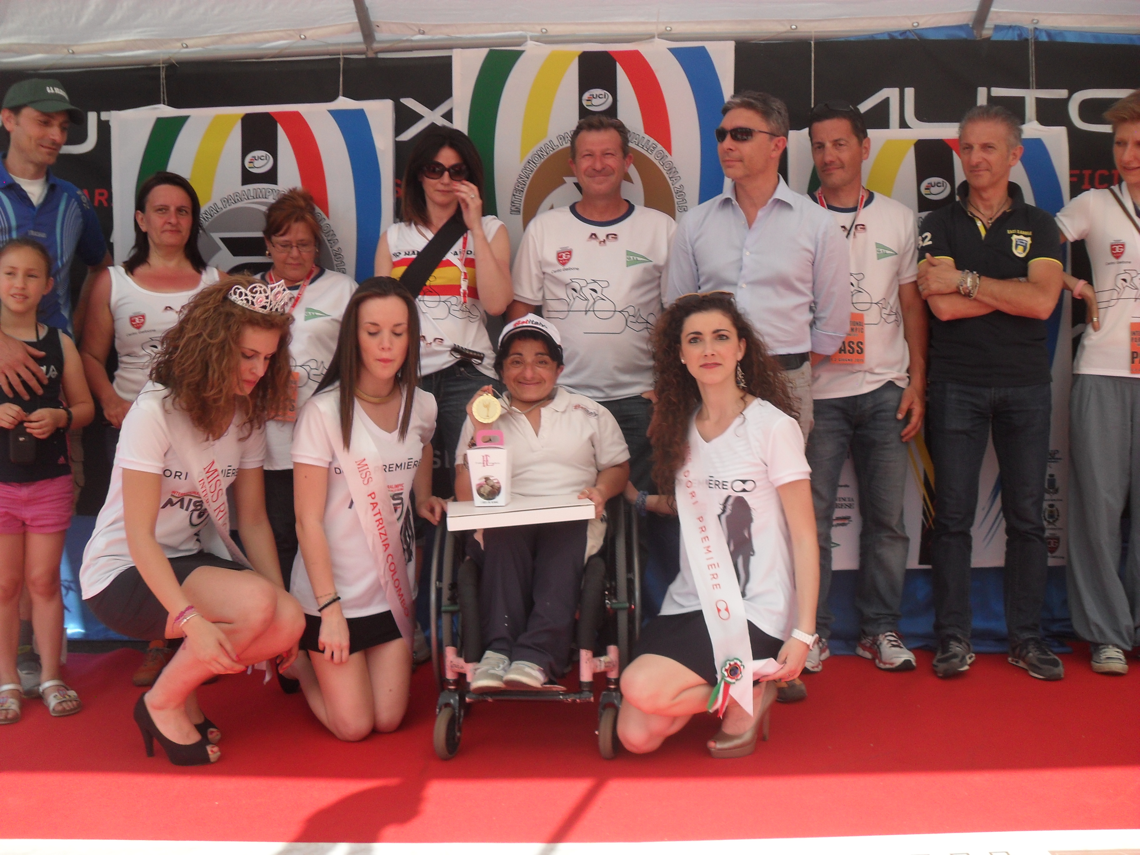 Premiazioni di Grazia Turco della gara internazionale